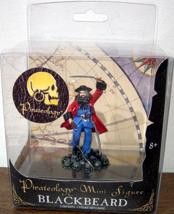 Blackbeard Pirateology Mini action Figure