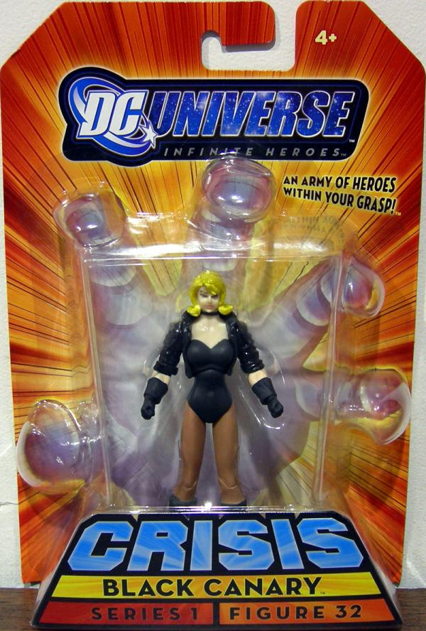Black Canary Inifinite Heroes Series 1 Figure 32 action figure