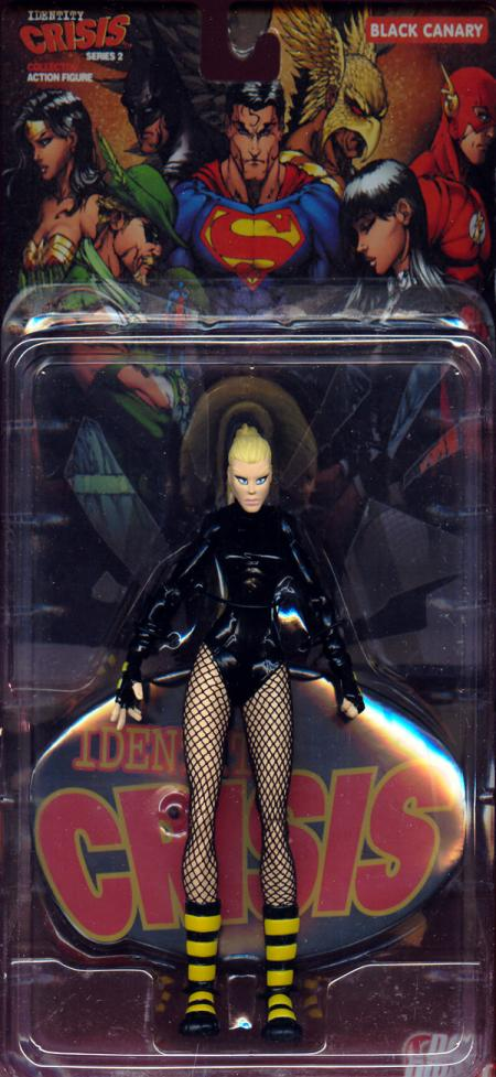 Black Canary Action Figure Identity Crisis Series 2 DC Direct