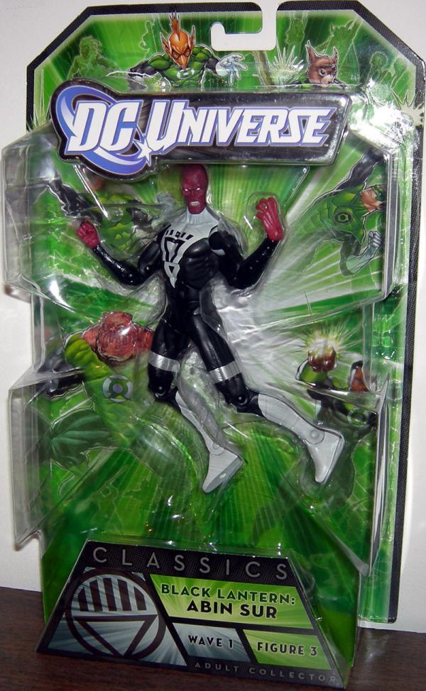 Black Lantern- Abin Sur DC Universe, Arkillo wave
