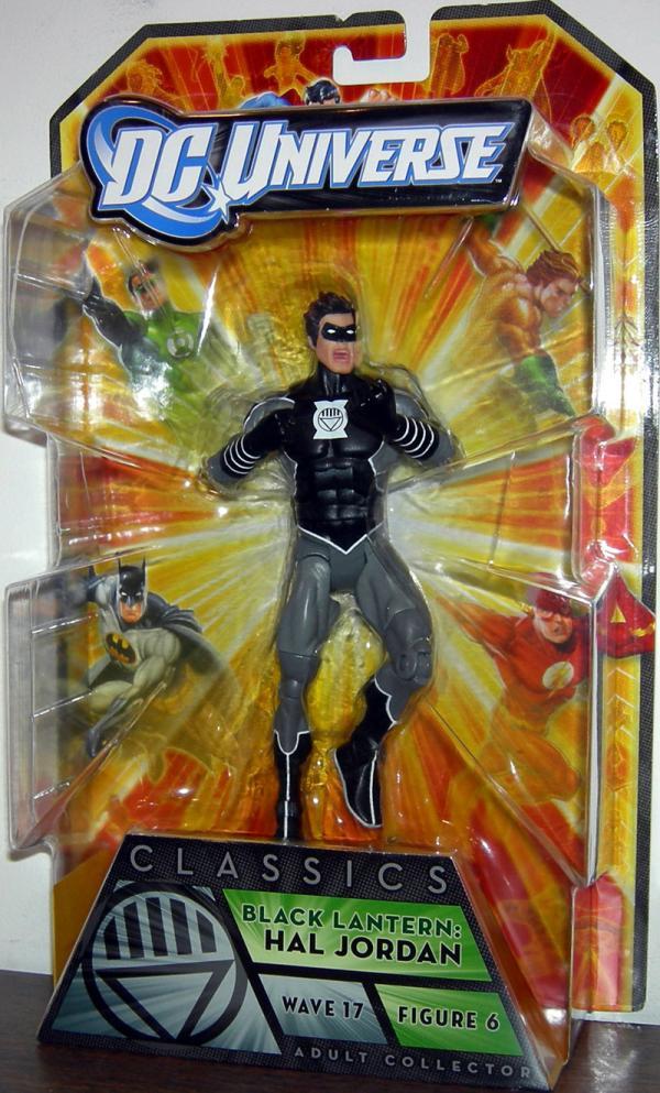Black Lantern Figure Hal Jordan Wave 17 Figure 6 DC Universe