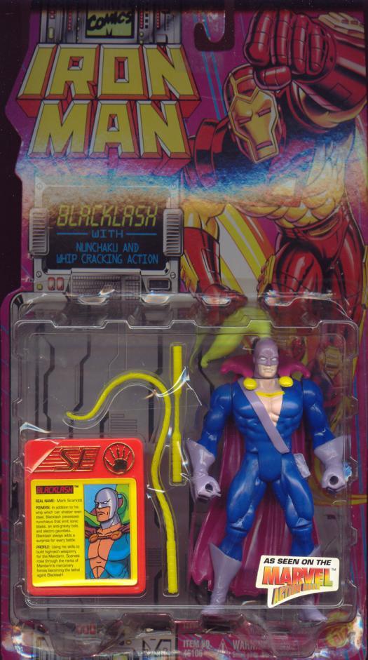 Blacklash Figure Iron Man Animated Series