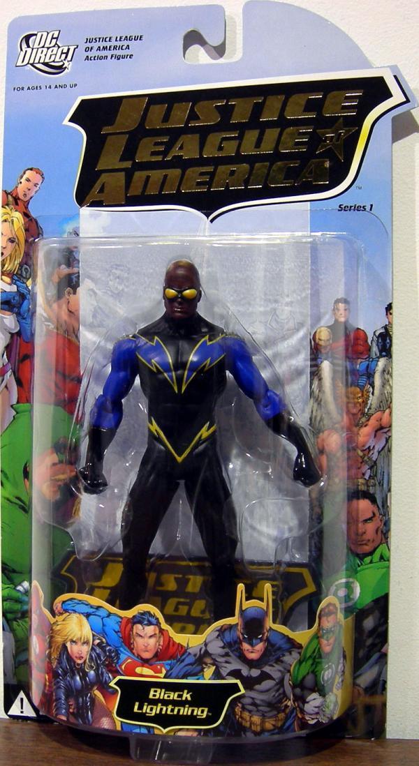 Black Lightning Justice League America action figure