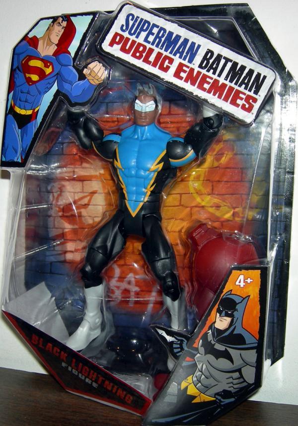 Black Lightning Superman Batman Public Enemies