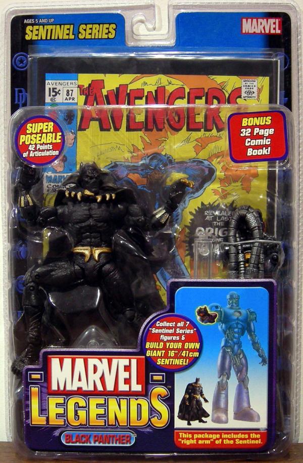 Black Panther Figure Marvel Legends Toy Biz