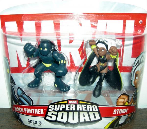 Black Panther Storm Super Hero Squad