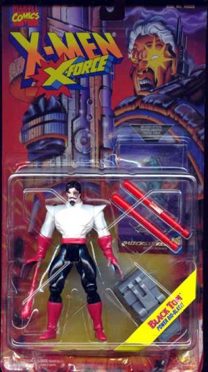 Black Tom Figure Long Card X-Men X-Force Toy Biz
