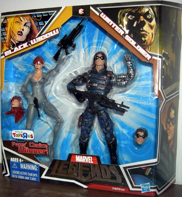 Black Widow Winter Soldier Variant Marvel Legends action figures