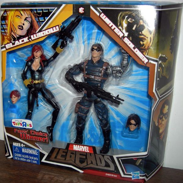 Black Widow Winter Soldier Marvel Legends action figures