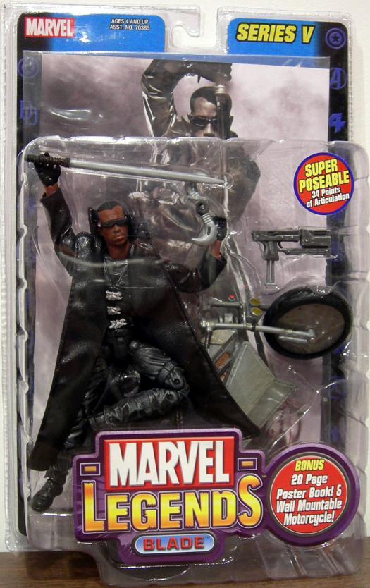 Blade II Figure Marvel Legends Series V Toy Biz