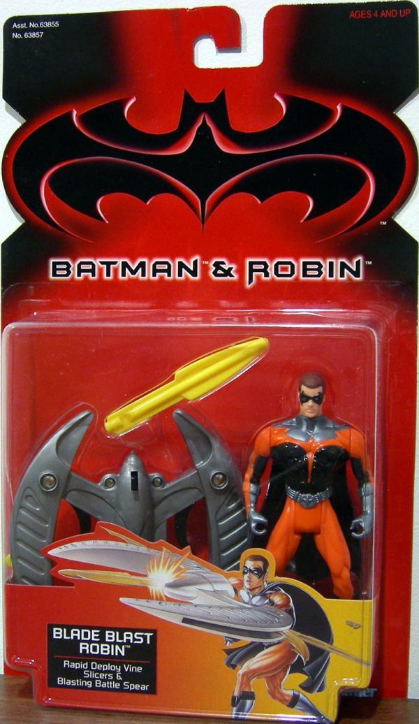 Blade Blast Robin Batman Robin