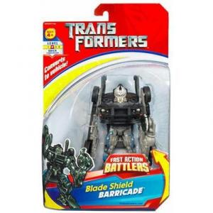 Blade Shield Barricade Action Figure Fast Action Battlers