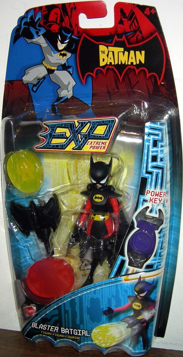 Blaster Batgirl Action Figure EXP Extreme Power Batman