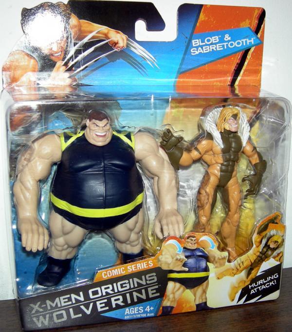Blob Sabretooth X-Men Origins