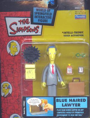Blue Haired Lawyer