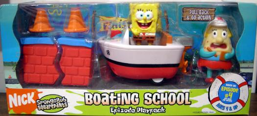 Boating School Action Figures Spongebob Episode Playpack