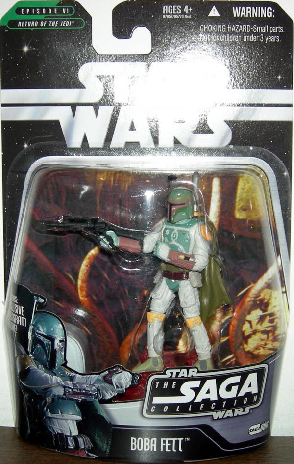 Boba Fett Figure Saga Collection 006 Star Wars Episode VI Return Jedi