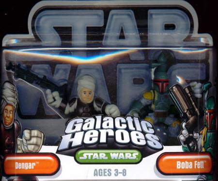 Boba Fett Dengar Galactic Heroes