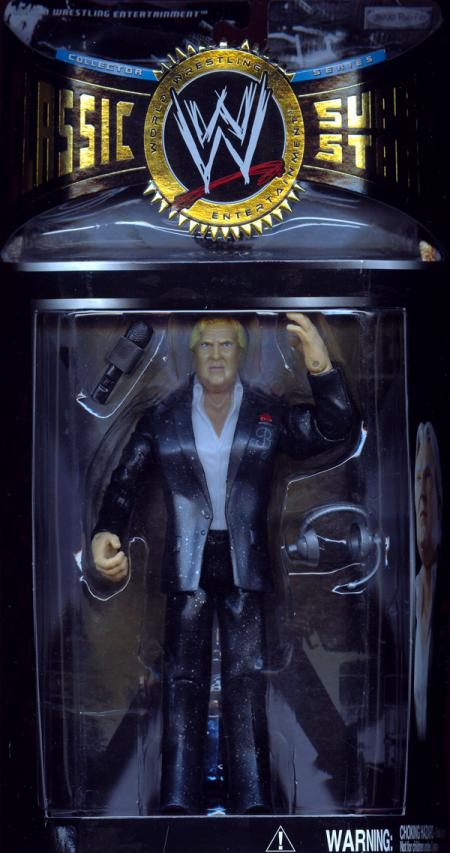 Bobby yhr Brain Heenan WWE Classic Superstars Action Figure Jakks