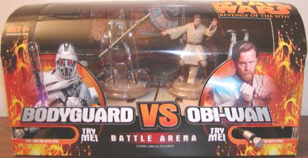 Grievous Bodyguard vs Obi-Wan Kenobi Battle Arena