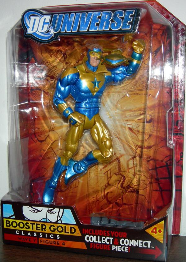 Booster Gold DC Universe Classics Wave 7 action Figure 4 Collar