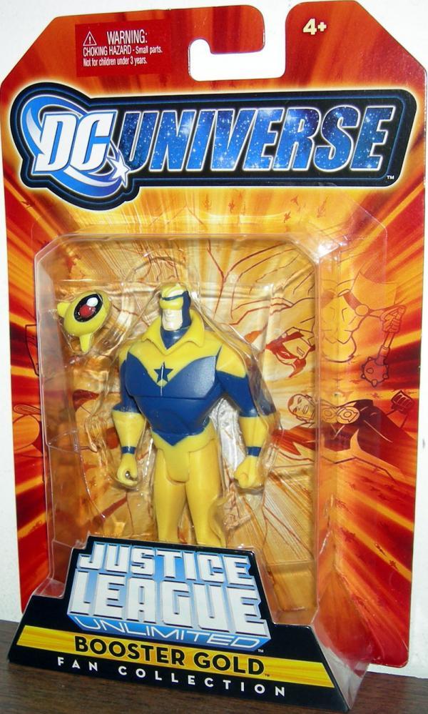 Booster Gold Figure Fan Collection Mattel