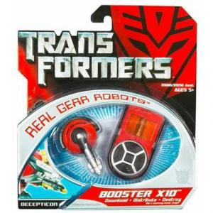 Booster X10 Movie Real Gear