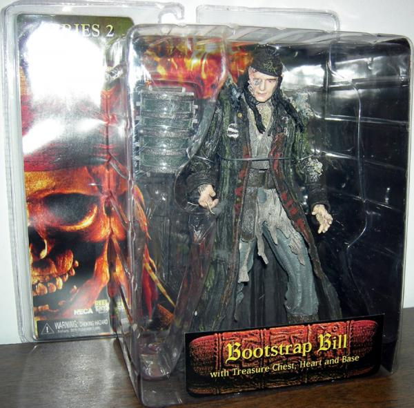 Bootstrap Bill Turner Dead Mans Chest Pirates Caribbean action figure