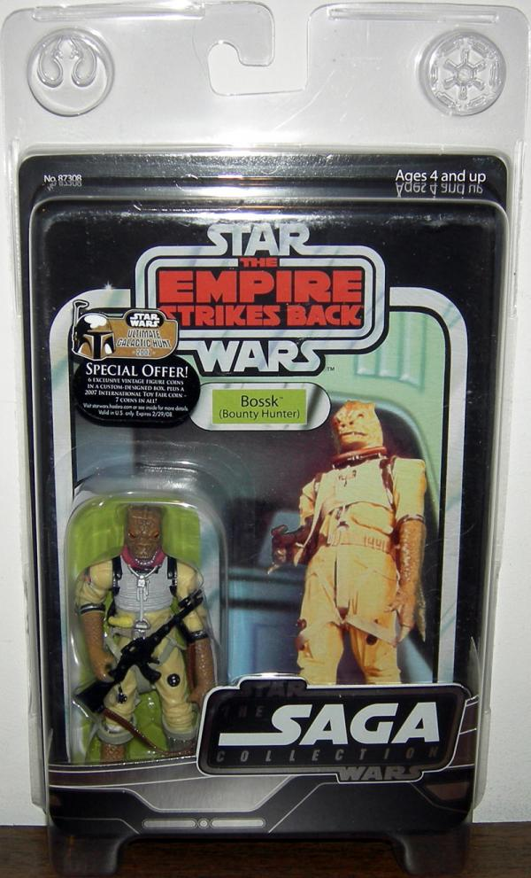 Bossk Bounty Hunter Vintage Original Trilogy Collection
