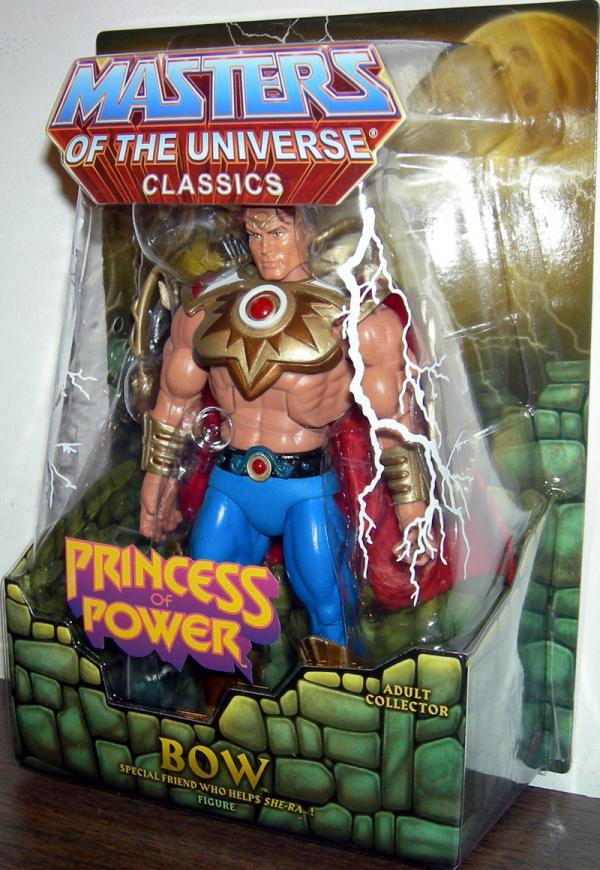 Bow Classics Masters Universe He-Man action figure