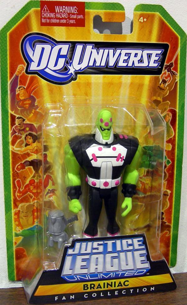 Brainiac Fan Collection action figure