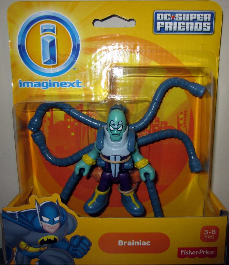 Brainiac Action Figure Imaginext DC Super Friends Fisher-Price