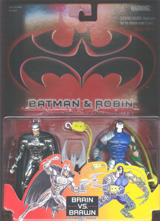 Brain vs Brawn 2-Pack Batman Robin