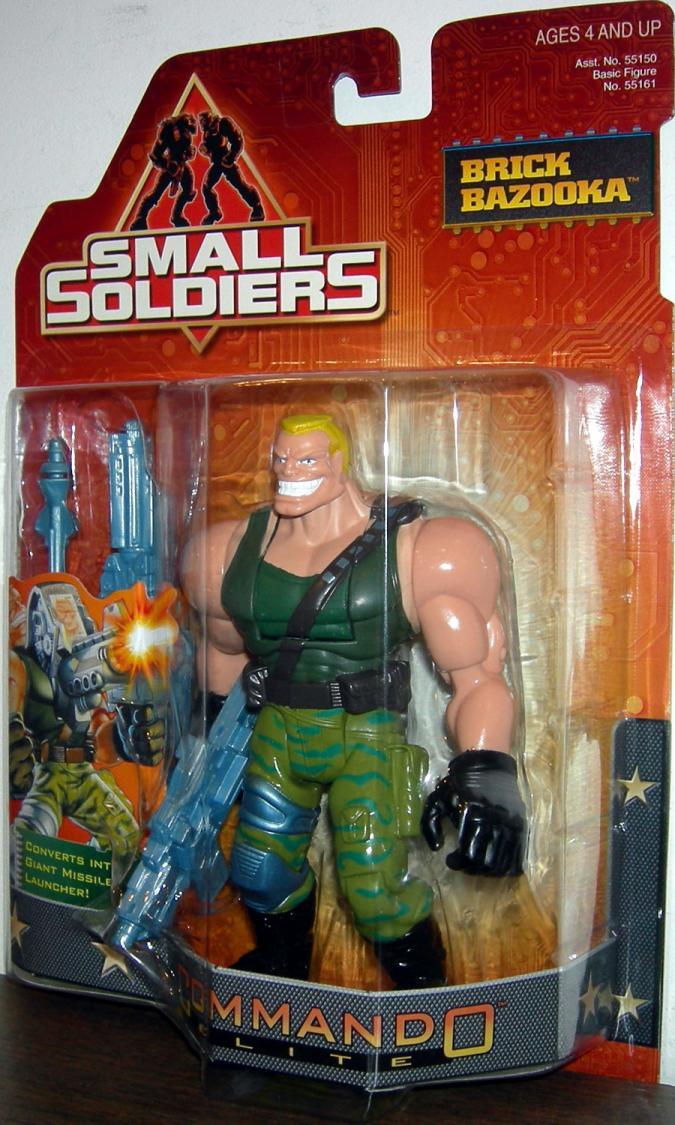 Brick Bazooka Figure Small Soldiers Commando Elite Kenner