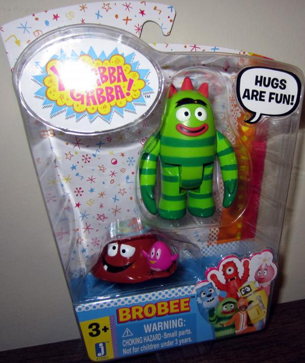 Brobee Yo Gabba Gabba action figure