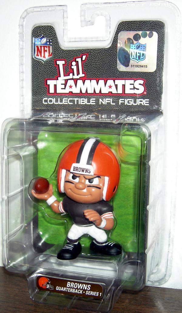Browns Quarterback Figure Lil Teammates Collectible NFL