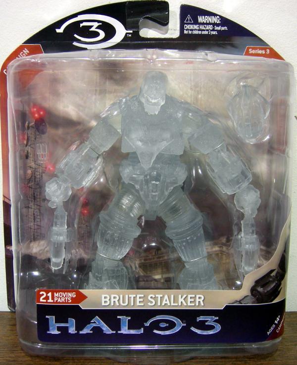 Brute Stalker Action Figure Halo 3 Series 3 Active Camo