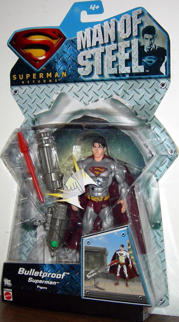 Bulletproof Superman Man Steel