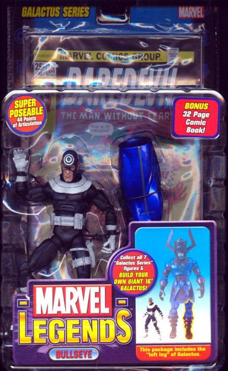 Bullseye Marvel Legends