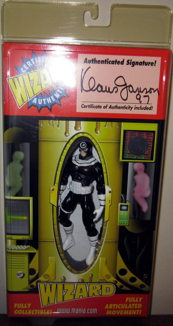 Bullseye Wizard ToyFare Exclusive Signed Action Figure