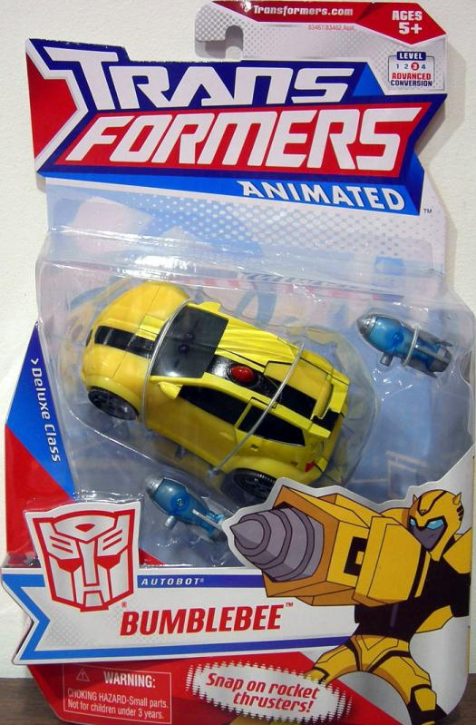 Bumblebee Transformers Animated Deluxe Class action figure