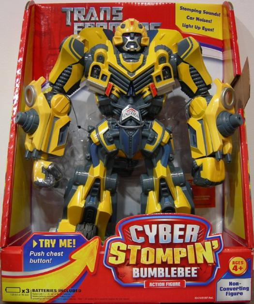 Bumblebee Cyber Stompin Figure Transformers