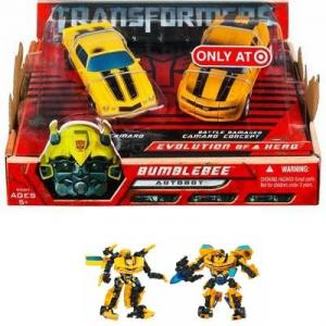 Bumblebee 2-Pack Evolution Hero