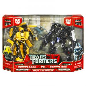 Bumblebee vs Barricade Movie First Encounter