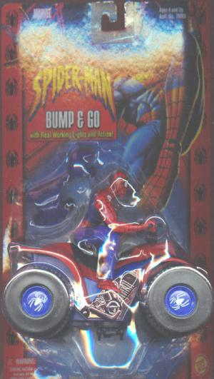 Spider-Man Bump Go 4-Wheeler gear Classic