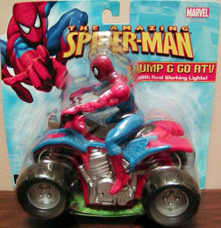 Bump Go ATV Amazing Spider-Man