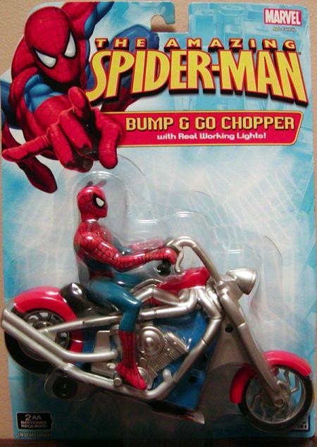 Bump Go Chopper Amazing Spider-Man