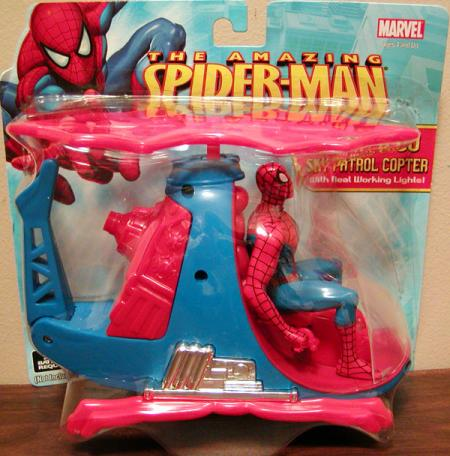 Bump Go Sky Patrol Copter Amazing Spider-Man