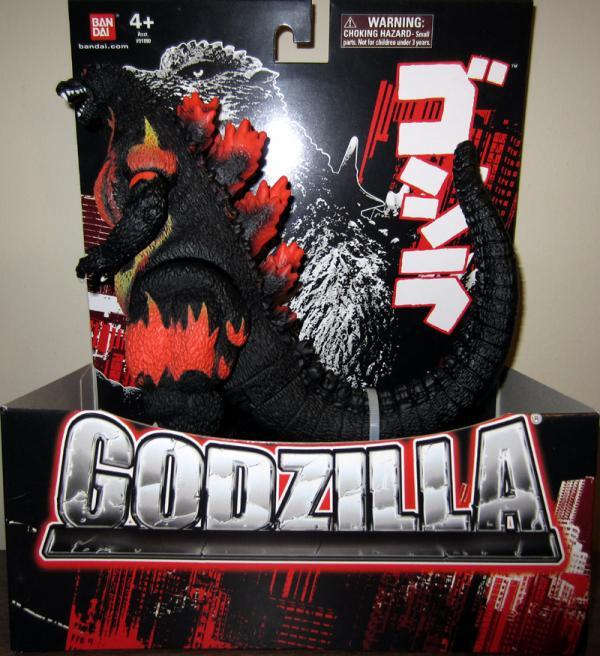 Burning Godzilla Figure 2012 Bandai Creation