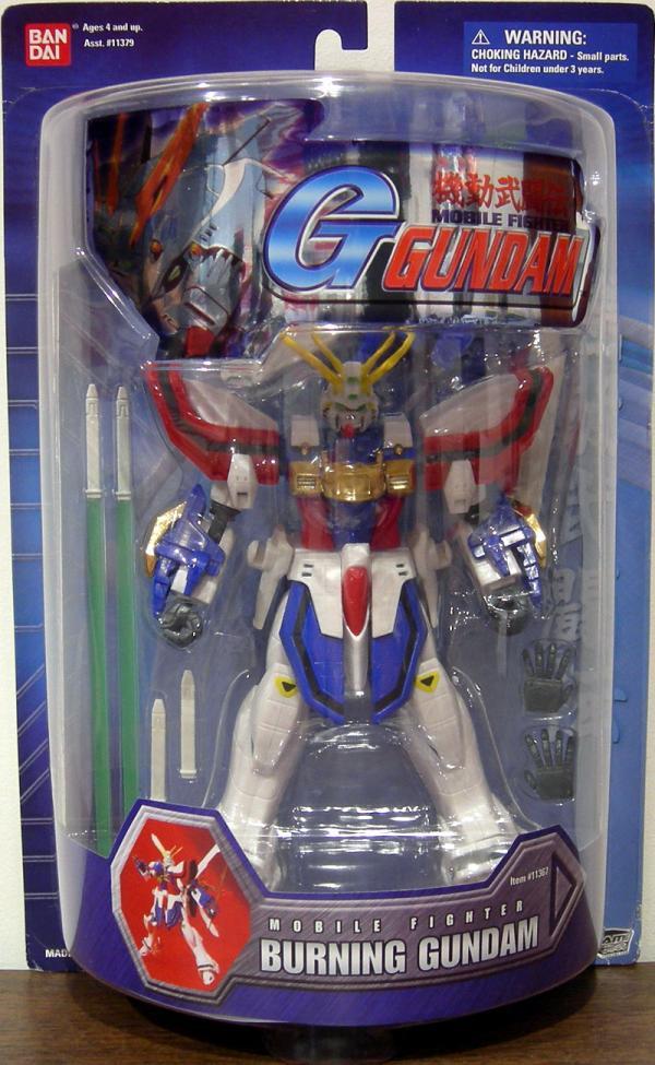Burning Gundam Mobile Fighter G action figure